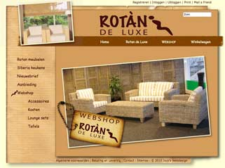 Website Rotan de Luxe